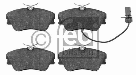 Kit de plaquettes de frein, frein à disque - FEBI BILSTEIN - 16449