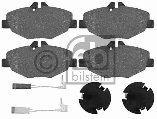 Kit de plaquettes de frein, frein à disque - FEBI BILSTEIN - 16452