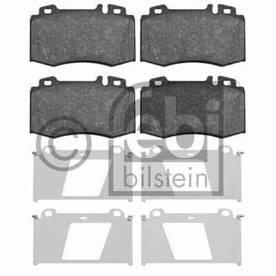 Kit de plaquettes de frein, frein à disque - FEBI BILSTEIN - 16454