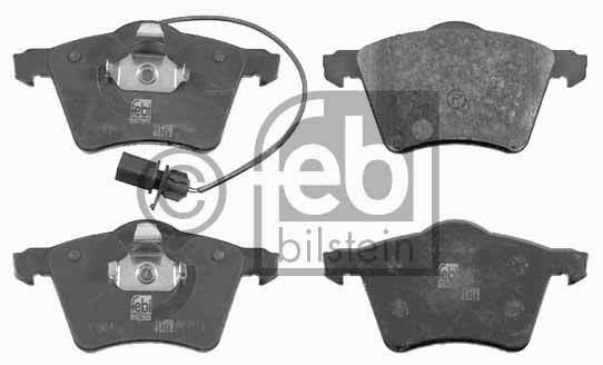 Kit de plaquettes de frein, frein à disque - FEBI BILSTEIN - 16458