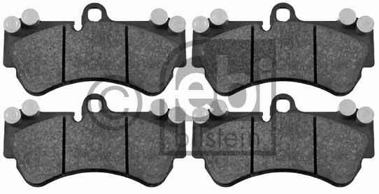 Kit de plaquettes de frein, frein à disque - FEBI BILSTEIN - 16459