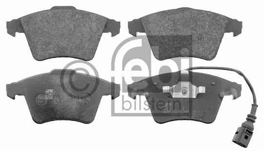 Kit de plaquettes de frein, frein à disque - FEBI BILSTEIN - 16462