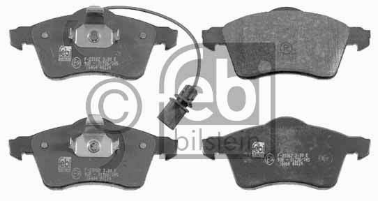 Kit de plaquettes de frein, frein à disque - FEBI BILSTEIN - 16464