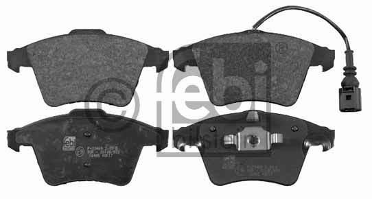 Kit de plaquettes de frein, frein à disque - FEBI BILSTEIN - 16465