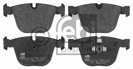 Kit de plaquettes de frein, frein à disque - FEBI BILSTEIN - 16467