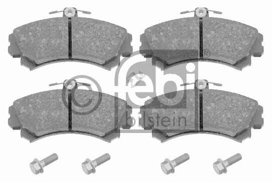 Kit de plaquettes de frein, frein à disque - FEBI BILSTEIN - 16468
