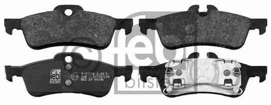 Kit de plaquettes de frein, frein à disque - FEBI BILSTEIN - 16469