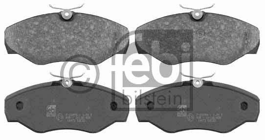 Kit de plaquettes de frein, frein à disque - FEBI BILSTEIN - 16473