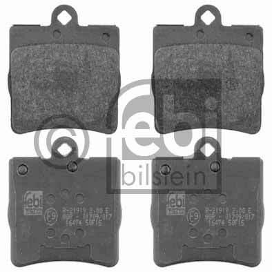 Kit de plaquettes de frein, frein à disque - FEBI BILSTEIN - 16474