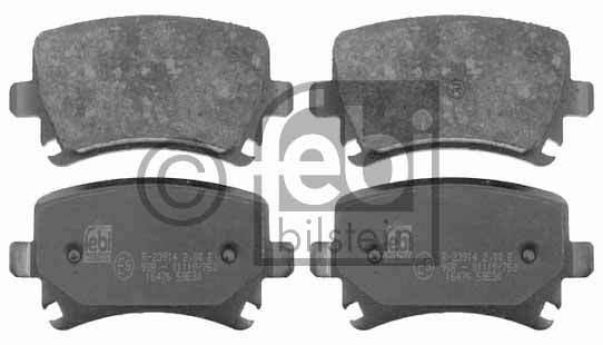 Kit de plaquettes de frein, frein à disque - FEBI BILSTEIN - 16476
