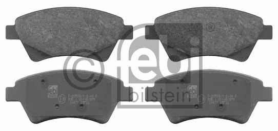 Kit de plaquettes de frein, frein à disque - FEBI BILSTEIN - 16477