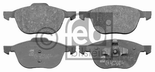 Kit de plaquettes de frein, frein à disque - FEBI BILSTEIN - 16479