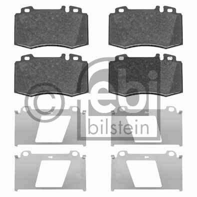Kit de plaquettes de frein, frein à disque - FEBI BILSTEIN - 16481