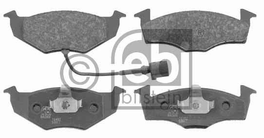 Kit de plaquettes de frein, frein à disque - FEBI BILSTEIN - 16482