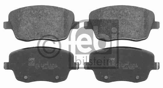 Kit de plaquettes de frein, frein à disque - FEBI BILSTEIN - 16484