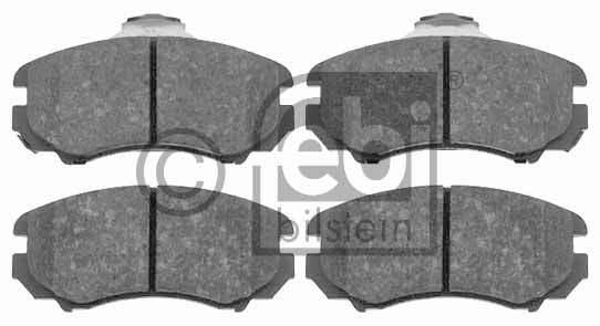 Kit de plaquettes de frein, frein à disque - FEBI BILSTEIN - 16489