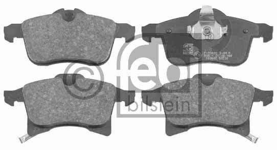 Kit de plaquettes de frein, frein à disque - FEBI BILSTEIN - 16491