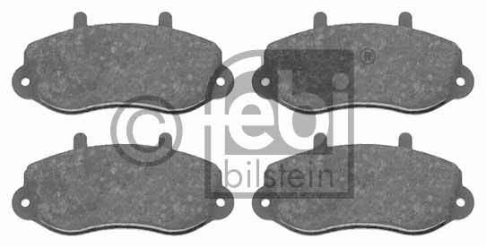 Kit de plaquettes de frein, frein à disque - FEBI BILSTEIN - 16494