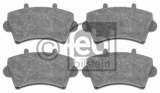Kit de plaquettes de frein, frein à disque - FEBI BILSTEIN - 16495