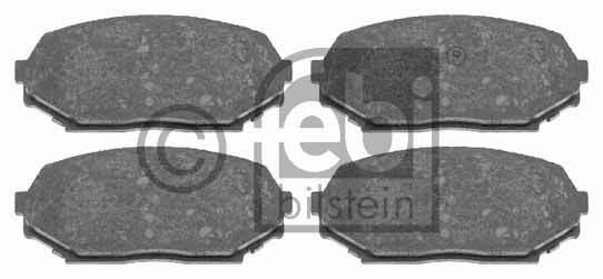Kit de plaquettes de frein, frein à disque - FEBI BILSTEIN - 16496
