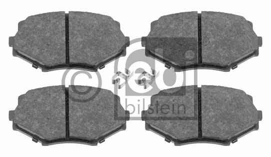 Kit de plaquettes de frein, frein à disque - FEBI BILSTEIN - 16497