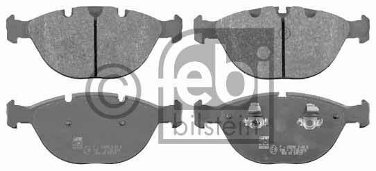 Kit de plaquettes de frein, frein à disque - FEBI BILSTEIN - 16501