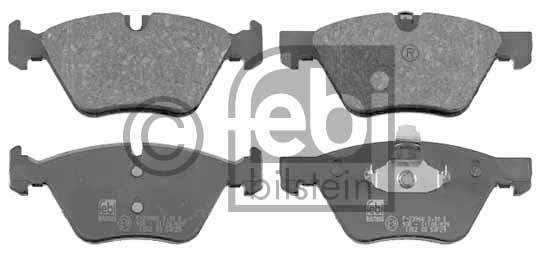 Kit de plaquettes de frein, frein à disque - FEBI BILSTEIN - 16503
