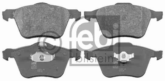 Kit de plaquettes de frein, frein à disque - FEBI BILSTEIN - 16504