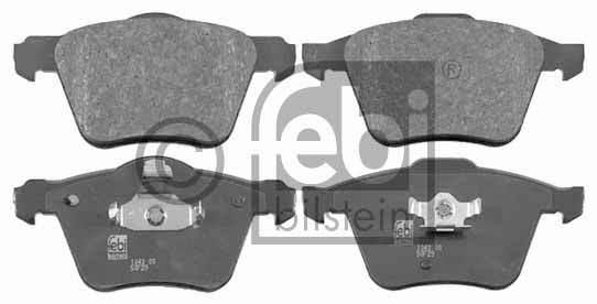 Kit de plaquettes de frein, frein à disque - FEBI BILSTEIN - 16505