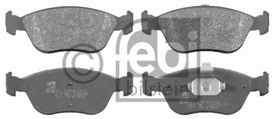 Kit de plaquettes de frein, frein à disque - FEBI BILSTEIN - 16506