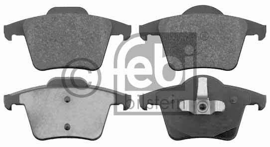 Kit de plaquettes de frein, frein à disque - FEBI BILSTEIN - 16508