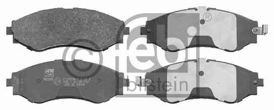 Kit de plaquettes de frein, frein à disque - FEBI BILSTEIN - 16510