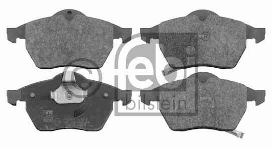 Kit de plaquettes de frein, frein à disque - FEBI BILSTEIN - 16513