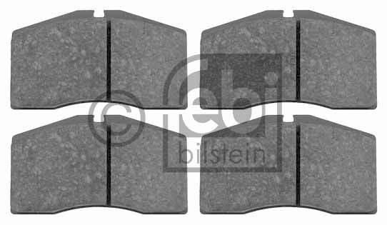 Kit de plaquettes de frein, frein à disque - FEBI BILSTEIN - 16514