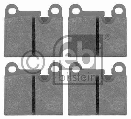 Kit de plaquettes de frein, frein à disque - FEBI BILSTEIN - 16515