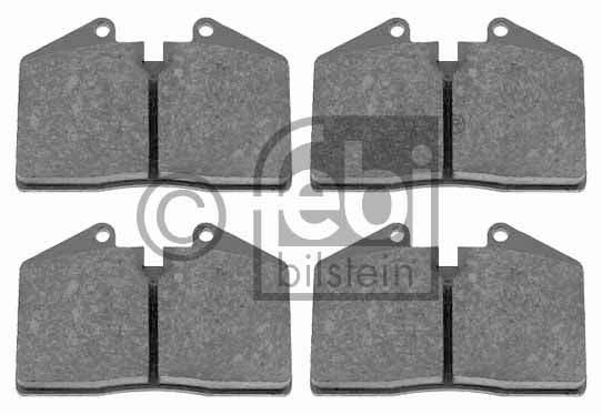 Kit de plaquettes de frein, frein à disque - FEBI BILSTEIN - 16516