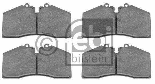 Kit de plaquettes de frein, frein à disque - FEBI BILSTEIN - 16518