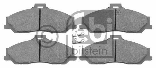 Kit de plaquettes de frein, frein à disque - FEBI BILSTEIN - 16520
