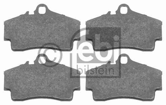 Kit de plaquettes de frein, frein à disque - FEBI BILSTEIN - 16521