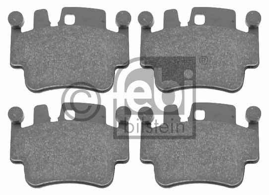 Kit de plaquettes de frein, frein à disque - FEBI BILSTEIN - 16522