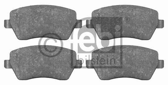 Kit de plaquettes de frein, frein à disque - FEBI BILSTEIN - 16523