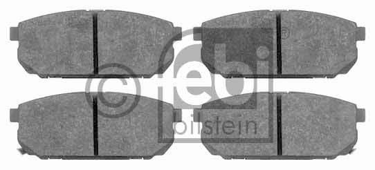 Kit de plaquettes de frein, frein à disque - FEBI BILSTEIN - 16524