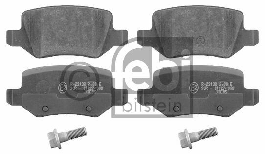 Kit de plaquettes de frein, frein à disque - FEBI BILSTEIN - 16525