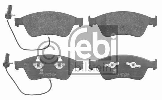 Kit de plaquettes de frein, frein à disque - FEBI BILSTEIN - 16526