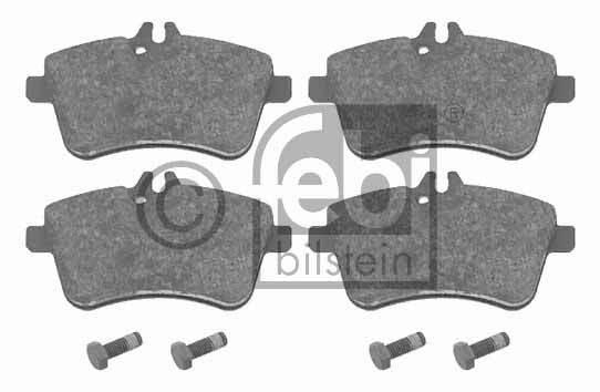 Kit de plaquettes de frein, frein à disque - FEBI BILSTEIN - 16529