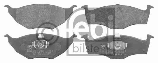 Kit de plaquettes de frein, frein à disque - FEBI BILSTEIN - 16530