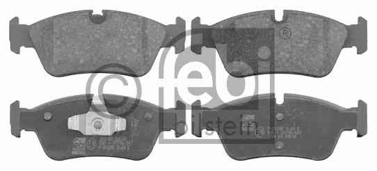 Kit de plaquettes de frein, frein à disque - FEBI BILSTEIN - 16531