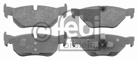 Kit de plaquettes de frein, frein à disque - FEBI BILSTEIN - 16533