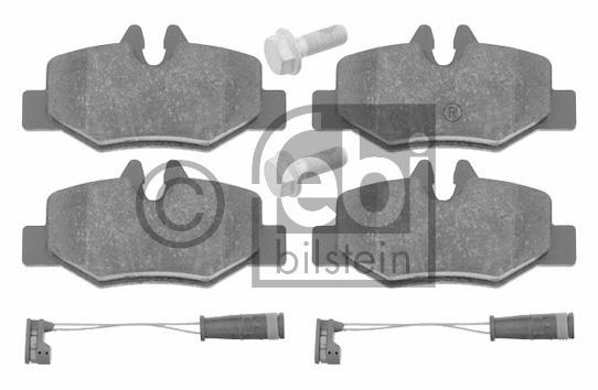 Kit de plaquettes de frein, frein à disque - FEBI BILSTEIN - 16535