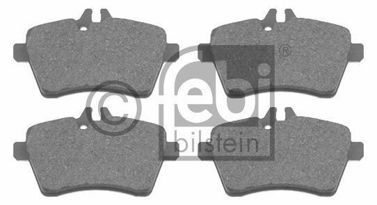 Kit de plaquettes de frein, frein à disque - FEBI BILSTEIN - 16536